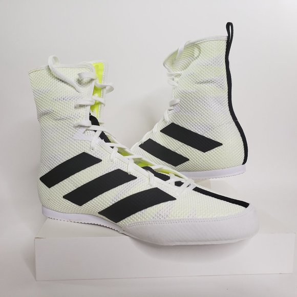 boxing shoes adidas white